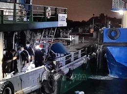 Tìm thấy thi thể thuyền viên mất tích trong vụ cháy tàu chở dầu trên sông Đồng Nai