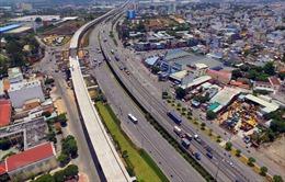 Tuyến metro số 1 Bến Thành - Suối Tiên đạt trên 71% khối lượng tổng thể
