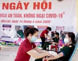Binh đoàn 15 tổ chức Ngày hội 'Hiến máu an toàn, không ngại COVID-19'