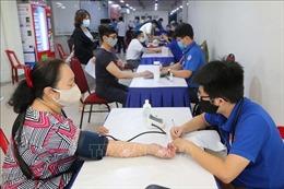 Khoảng 2.000 thanh niên, công nhân TP Hồ Chí Minh tham gia hiến máu tình nguyện