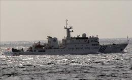 Nhật Bản phản đối tàu Trung Quốc nghiên cứu tại Vùng đặc quyền kinh tế