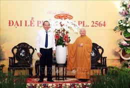 Phó Thủ tướng Trương Hòa Bình chúc mừng lễ Phật đản PL.2564