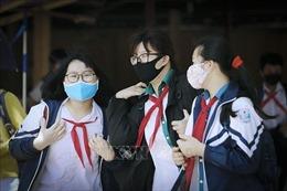 Các trường học thực hiện nghiêm quy định về phòng, chống dịch COVID-19