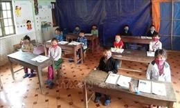 Học sinh vùng cao Hà Giang trở lại trường đạt tỷ lệ cao sau kỳ nghỉ dài ngày