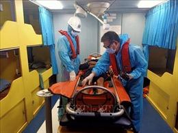 Điều động tàu, cứu nạn khẩn cấp thuyền viên bị tai nạn lao động trên biển