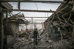 Pháo kích gây thương vong dân thường ở thủ đô Tripoli