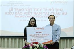 Tiếp nhận vật tư y tế hỗ trợ kiều bào Việt Nam tại châu Âu phòng, chống dịch COVID-19