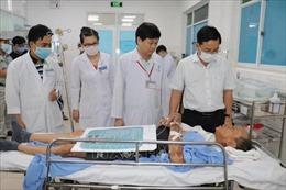 Sập công trình trong KCN Giang Điền: Tập trung cứu chữa người bị thương và hỗ trợ gia đình người bị nạn