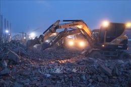 Sập công trình tại khu công nghiệp Giang Điền: Đã có 10 người chết, 14 người bị thương