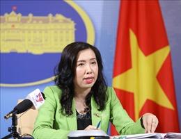 Việt Nam đề nghị các bên không có hành động làm phức tạp thêm tình hình ở Biển Đông
