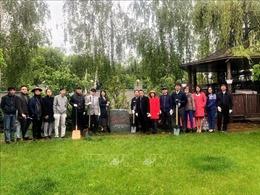 Các hoạt động kỷ niệm 130 năm ngày sinh Chủ tịch Hồ Chí Minh tại Ukraine và Đức