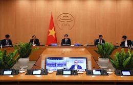 Chủ tịch UBND thành phố Hà Nội chia sẻ kinh nghiệm phòng, chống dịch COVID-19 với các thị trưởng trên thế giới