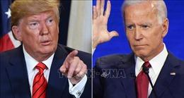 Tổng thống Donald Trump rút ngắn được khoảng cách với ứng cử viên Biden
