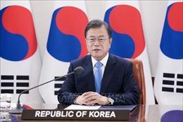 Tổng thống Hàn Quốc nhấn mạnh kiên định mục tiêu hòa bình trên Bán đảo Triều Tiên