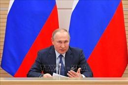Tổng thống Putin tin tưởng người dân Nga ủng hộ sửa đổi Hiến pháp
