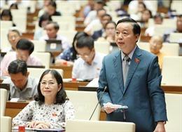 Kỳ họp thứ 9, Quốc hội khóa XIV: Hợp tác quốc tế về nước ở lưu vực sông Mê Kông