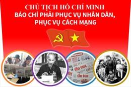 Chủ tịch Hồ Chí Minh: Báo chí phục vụ nhân dân, phục vụ cách mạng