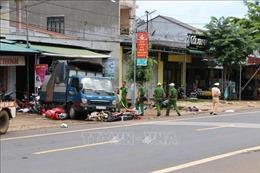 Khởi tố, bắt tạm giam lái xe gây tai nạn liên hoàn làm 5 người tử vong tại Đắk Nông