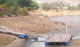Buộc tháo gỡ toàn bộ công trình vi phạm tại hành lang hồ chứa nước Suối Đá