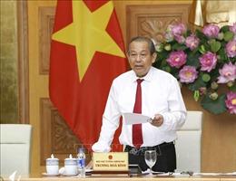 Phó Thủ tướng Trương Hòa Bình: Chính phủ luôn coi trọng và đánh giá cao vai trò của báo chí