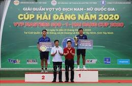 Lý Hoàng Nam đăng quang Giải quần vợt VTF Masters 500-1 Hai Dang Cup 2020
