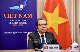 Việt Nam sẵn sàng thúc đẩy đối thoại, đàm phán giữa Israel và Palestine