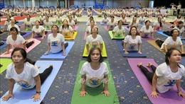 Ngày quốc tế YOGA được tổ chức tại Phú Yên