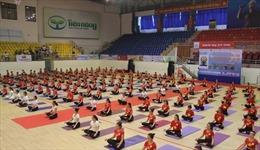 Khoảng 2.000 vận động viên tham gia Festival Yoga toàn quốc năm 2020