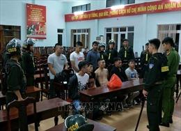 Truy bắt trên 50 thanh niên hỗn chiến trong đêm