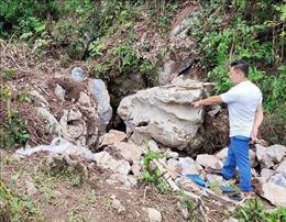 Hỗ trợ gia đình 2 nạn nhân tử vong do ngạt khí dưới hang sâu