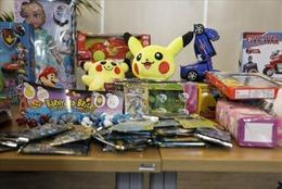 Đồ chơi bị liệt vào dòng sản phẩm nguy hiểm nhất tại thị trường châu Âu