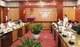 Kiểm tra công tác phòng, chống dịch COVID-19 tại tỉnh Lạng Sơn