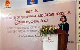 Tăng cường hợp tác thúc đẩy quản trị và hành chính công ở Việt Nam