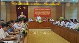 Phó Thủ tướng Trương Hòa Bình làm việc tại tỉnh Vĩnh Phúc