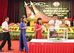 Kết quả bước đầu trong việc tổ chức Đại hội Đảng các cấp tại TP Hải Phòng