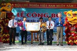 Ninh Thuận: Công nhận xã đặc biệt khó khăn vùng bãi ngang ven biển đạt chuẩn nông thôn mới