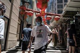 Hong Kong có số ca mắc COVID-19 cao nhất trong một ngày