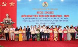 Công đoàn Giáo dục Việt Nam tuyên dương 34 tập thể và 138 cá nhân tiêu biểu