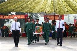 Tây Ninh truy điệu, an táng 149 hài cốt liệt sĩ quân tình nguyện Việt Nam từ chiến trường Campuchia