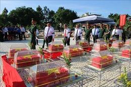 Long An tổ chức lễ truy điệu, an táng hài cốt liệt sỹ quân tình nguyện Việt Nam