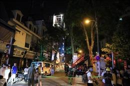 Xác định danh tính các nạn nhân trong vụ sập giàn giáo tại Hà Nội