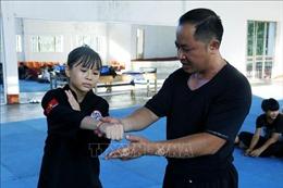 Cô bé vàng Pencak Silat của tỉnh Tuyên Quang
