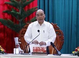 Thủ tướng Nguyễn Xuân Phúc làm việc với lãnh đạo các tỉnh, thành phố vùng ĐBSCL