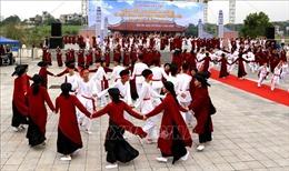 Phú Thọ: Sớm đưa Việt Trì trở thành Thành phố lễ hội về với cội nguồn dân tộc Việt Nam