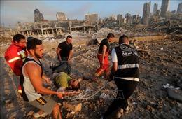 Nhiều nước xác nhận có công dân thương vong trong vụ nổ ở Beirut