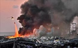 Thông tin thêm về nguyên nhân vụ nổ kinh hoàng ở Beirut