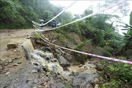 Sạt lở đất tại Lào Cai khiến hai người tử vong