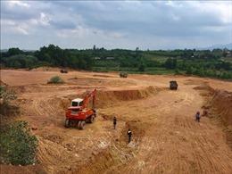 Dừng các hoạt động hạ độ cao, tận thu đất đồi trên địa bàn xã Phú Sơn, Ba Vì