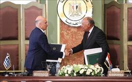 Ai Cập - Hy Lạp ký thỏa thuận về khu vực đặc quyền kinh tế