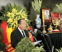 Lời cảm ơn của Ban Lễ tang Nhà nước và gia đình nguyên Tổng Bí thư Lê Khả Phiêu
